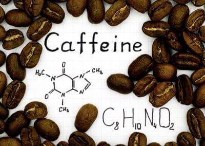 Les effets de la caféine